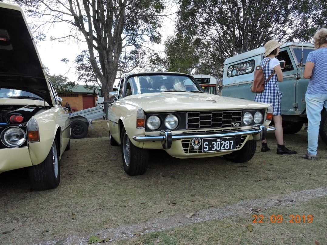 1972 Rover P6B