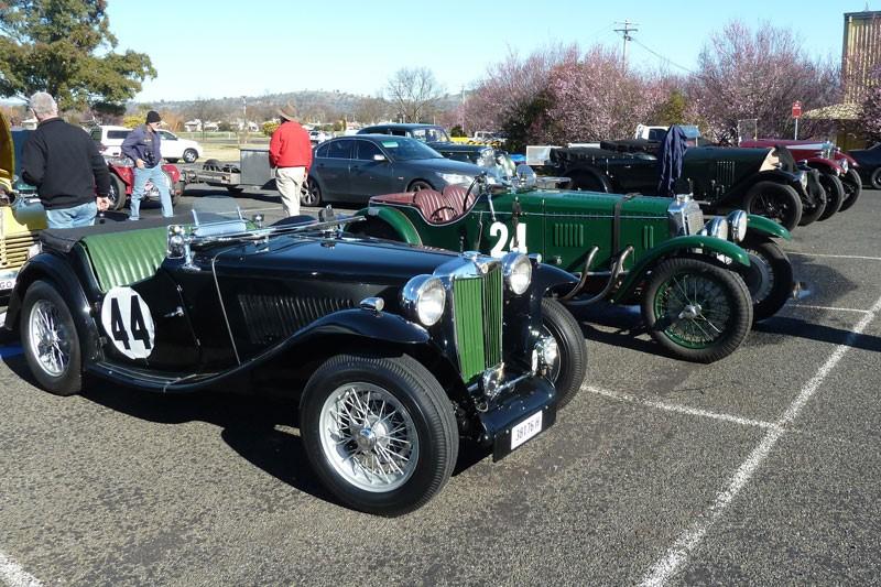 1946 MG TC Midget