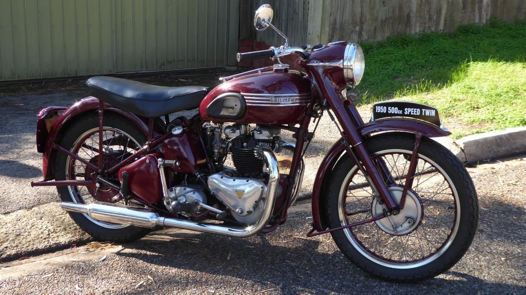 1950 Triumph 5T SPEED TWIN