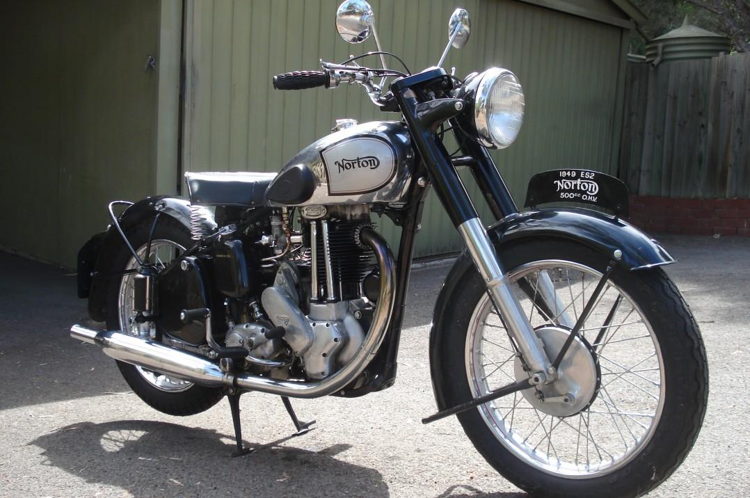 1950 Norton ES2