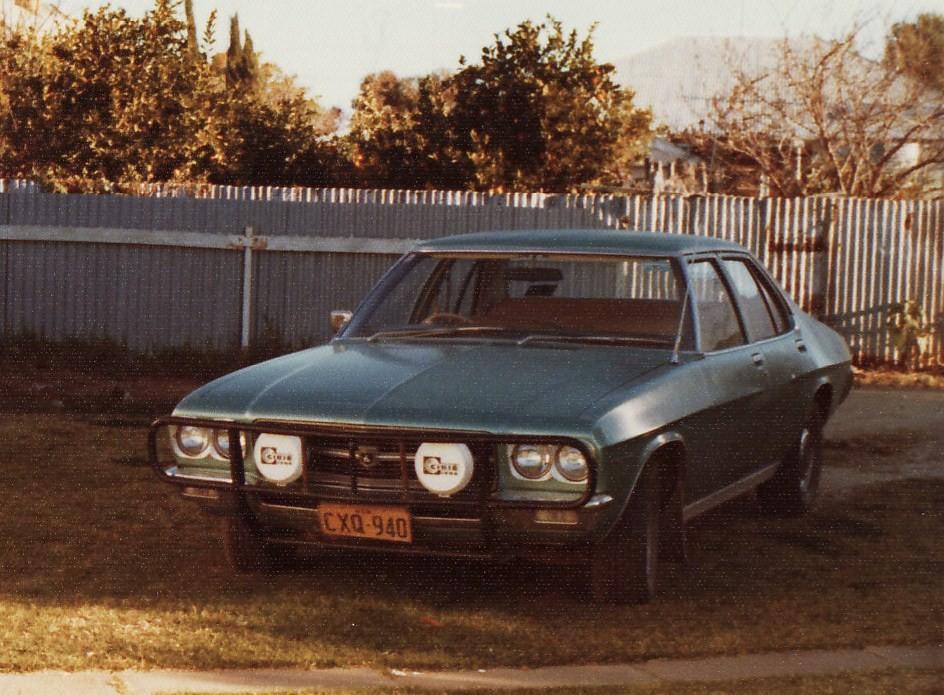 1971 Holden HQ Premier