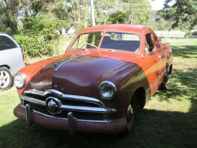 1949 Ford single spinner