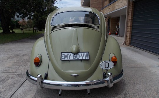 This is my wifes 1960 VEE DUB