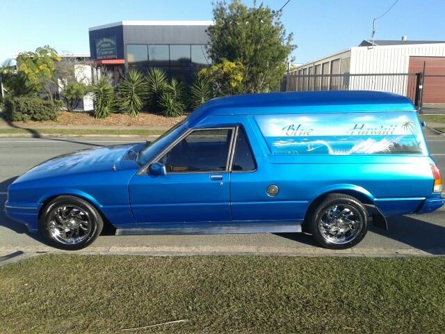 1990 Ford XF Panel Van