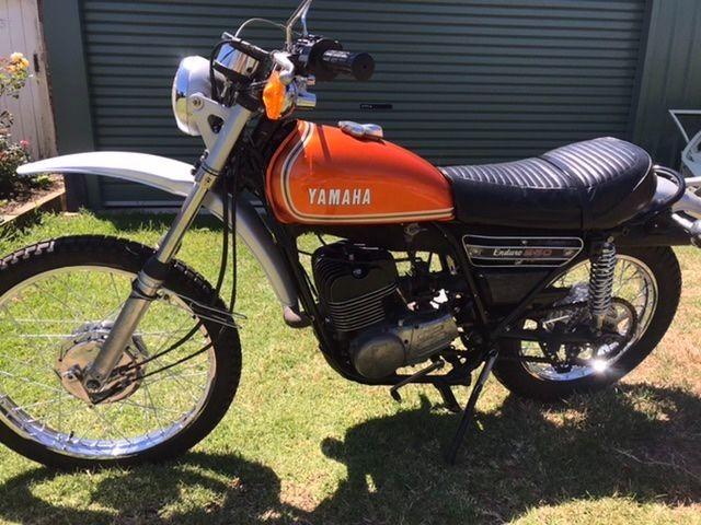 1974 Yamaha 246cc DT250