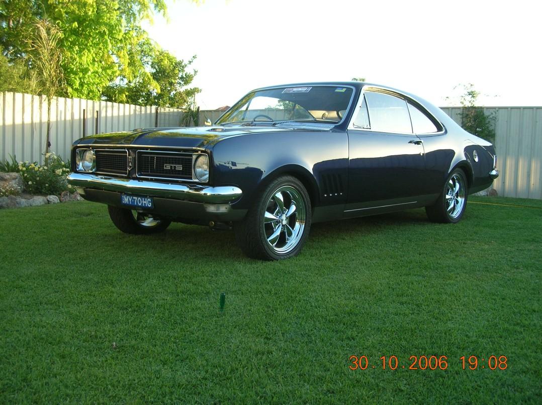 1970 Holden Monaro Hg GTS