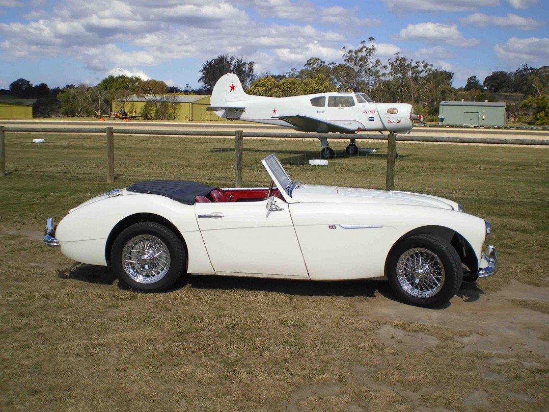 1961 Austin Healey 3000 Mk 2
