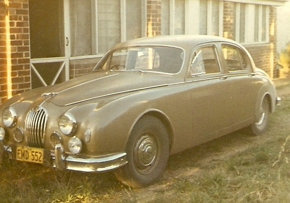 1958 Jaguar 2.4 Litre Manual with electric overdrive