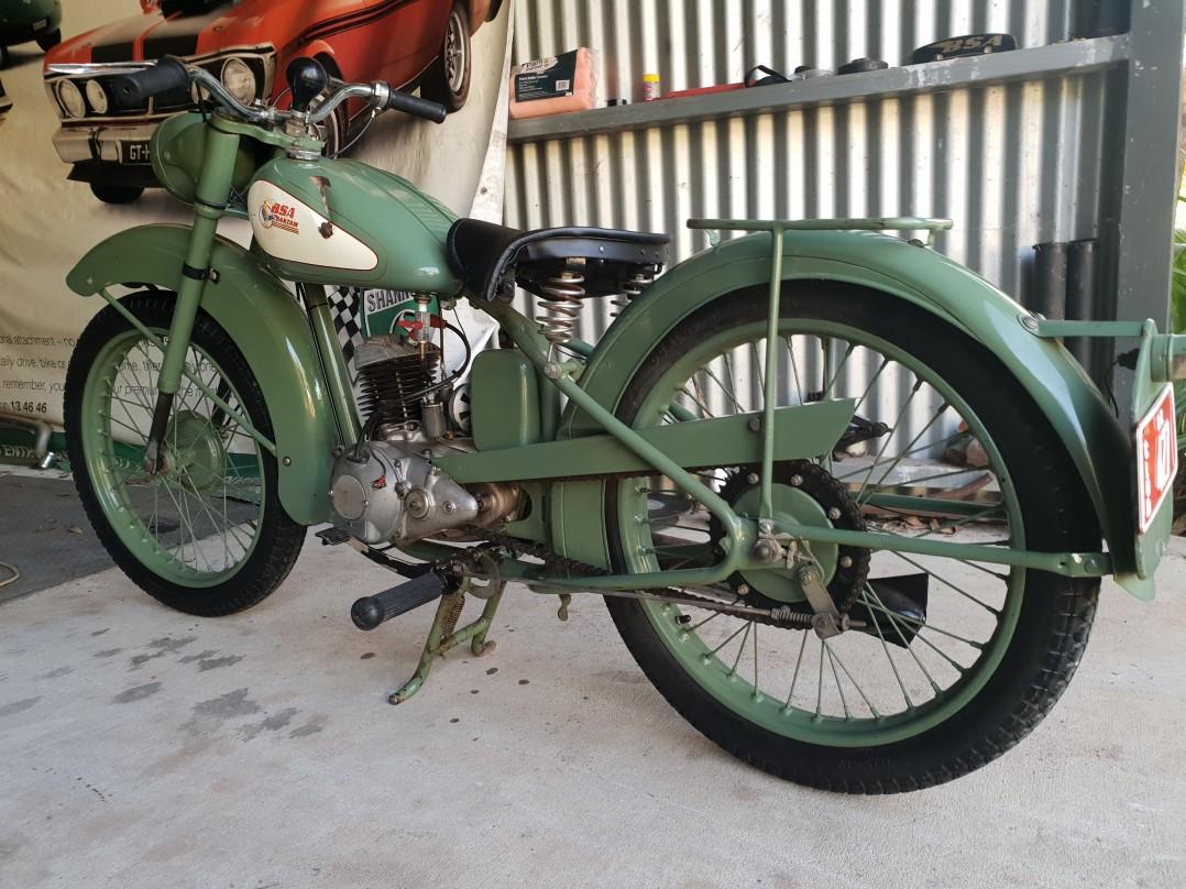 1948 BSA bantam