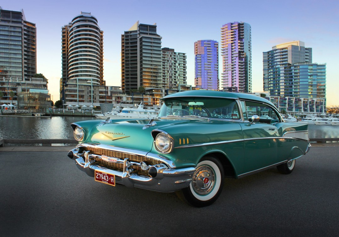 1957 Chevrolet Bel Air Sports Coupe RHD