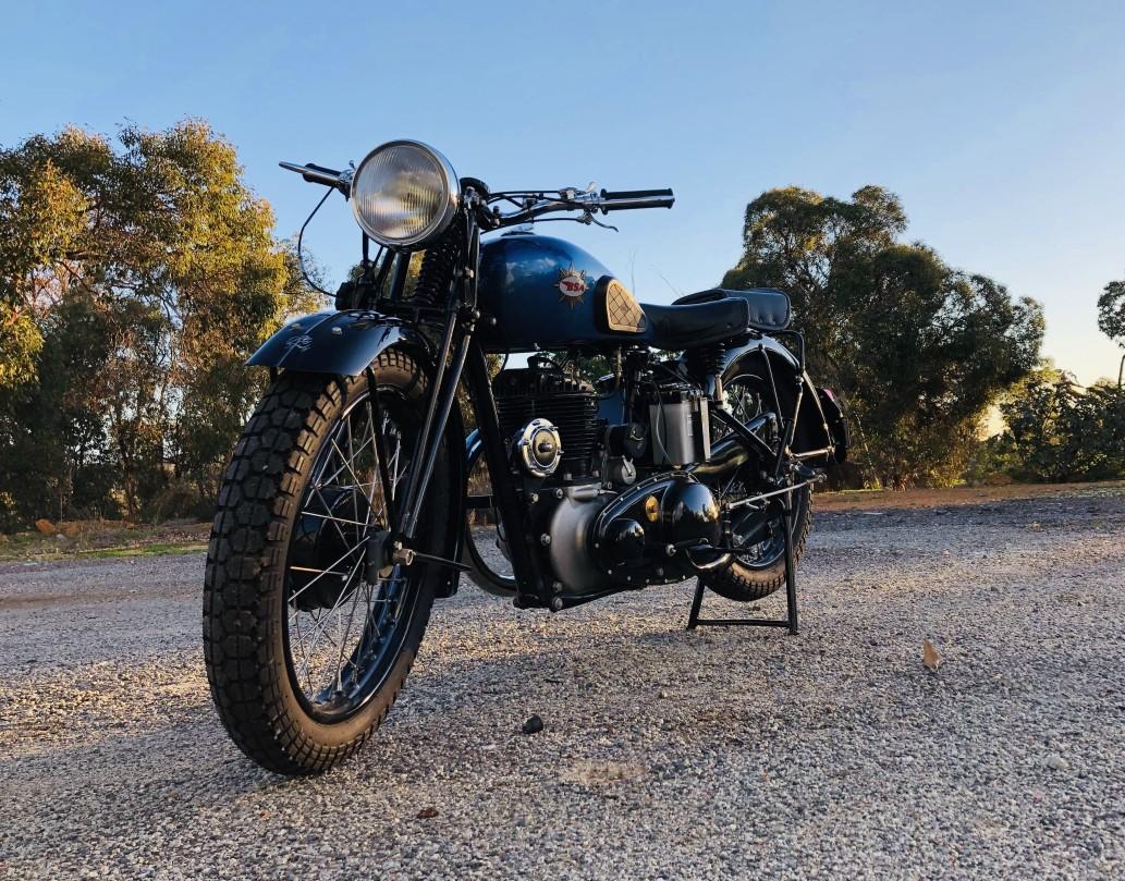 1945 BSA WM20