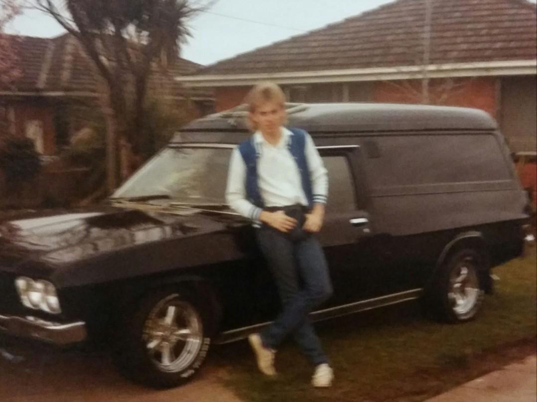 1972 Holden HQ panelvan
