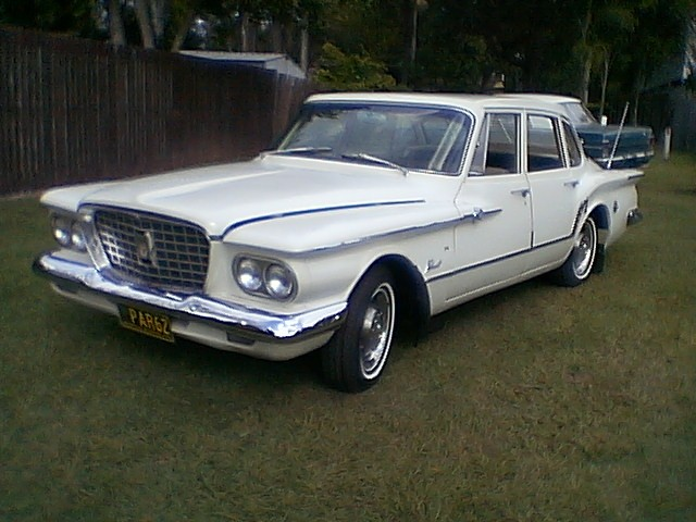 1962 Chrysler Valiant R Series