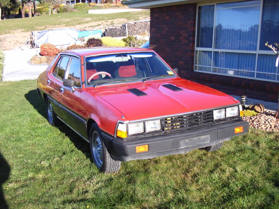 1981 Mitsubishi Sigma Turbo #105