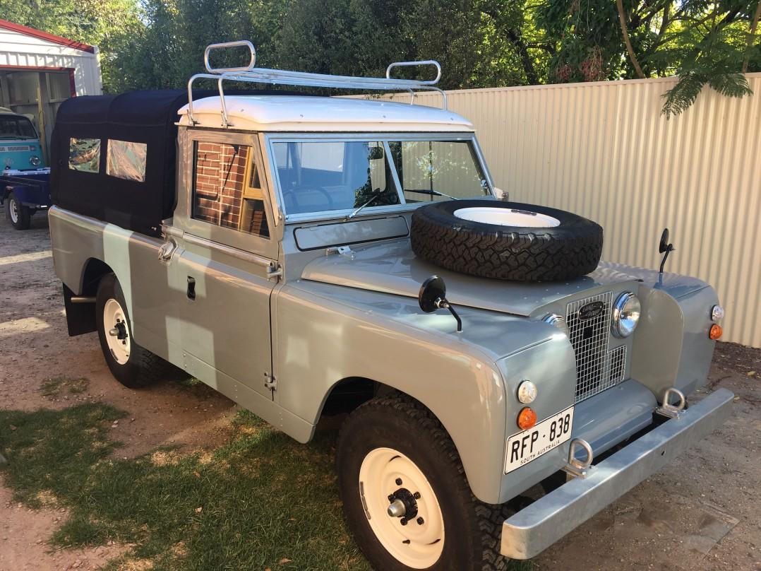 1969 Land Rover SIIa