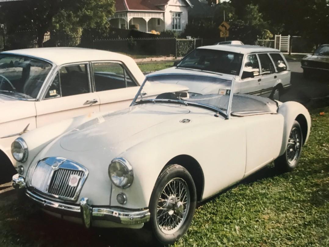 1957 MG A 1500