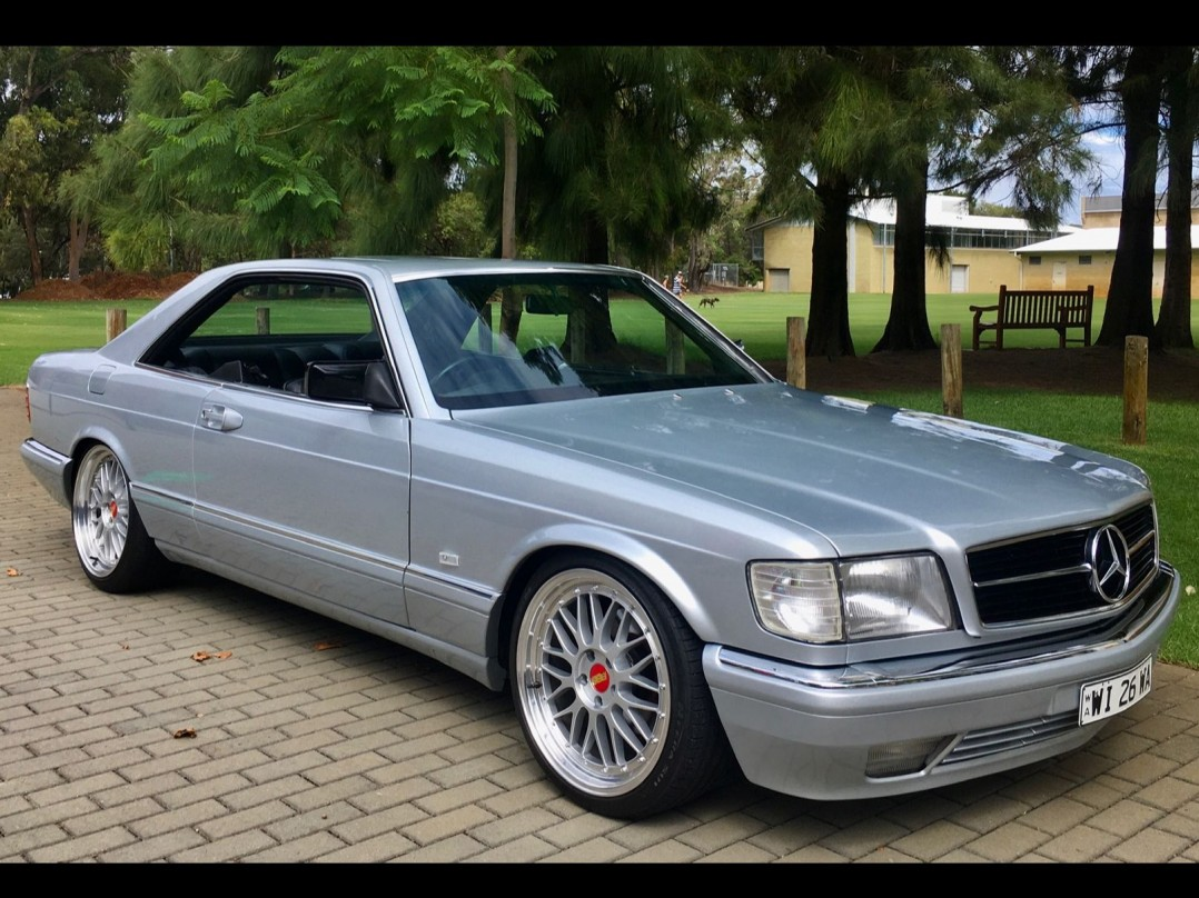 1987 Mercedes-Benz 560 SEC (ECE)