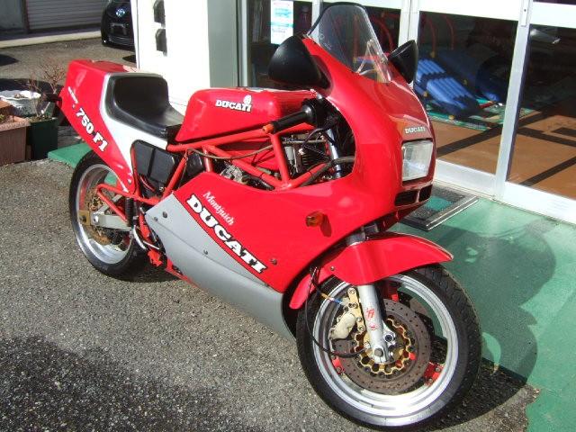 1987 Ducati 750 F1 Montjuich