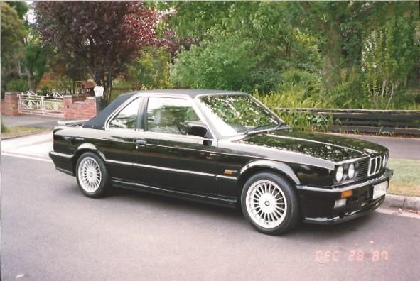 1986 BMW 323i Cabriolet