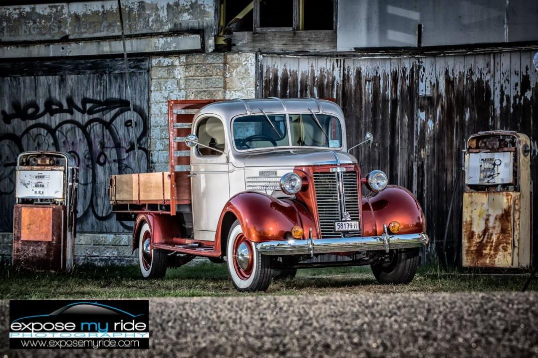 1937 Oldsmobile One Ton Utility Truck
