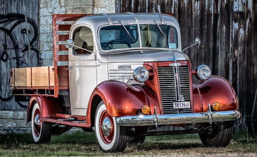 1937 Oldsmobile One Ton Utility Truck (Australian) - By Holdens