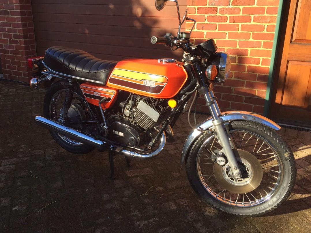 1976 Yamaha RD 250