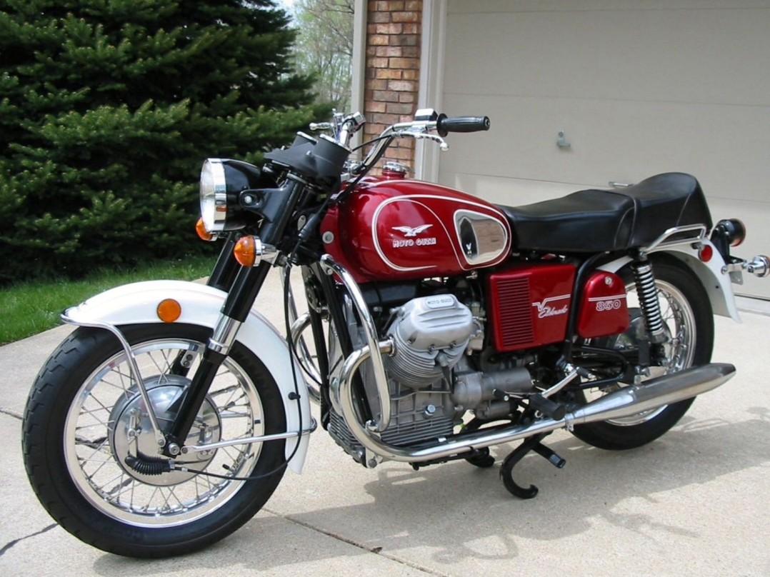 1972 Moto Guzzi 850 Eldorado
