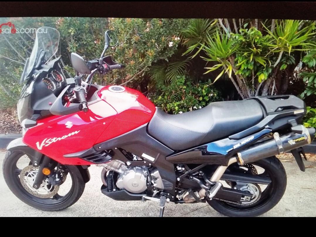 2012 Suzuki Vstrom 1000