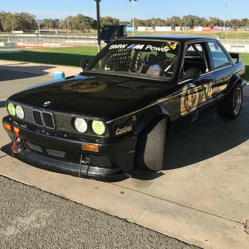 1984 BMW E30 Log Booked Classic