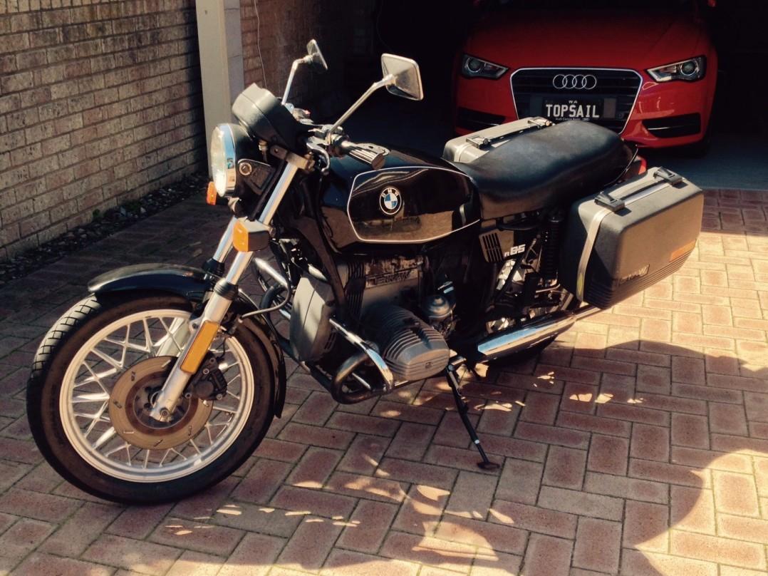 1985 BMW 650cc R65