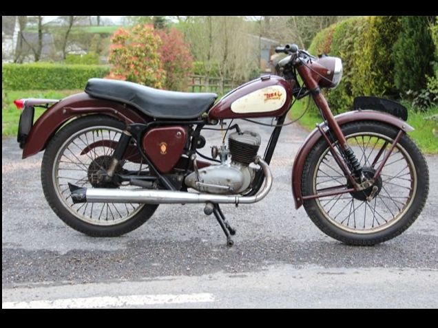 1969 BSA Bantam 175