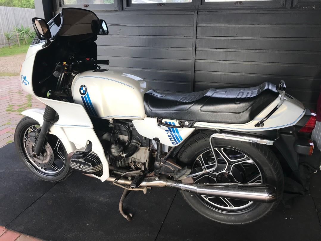 1991 BMW 980cc R100RS