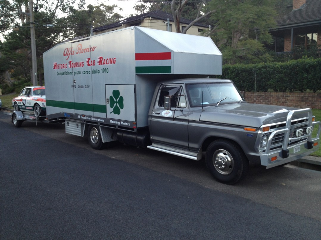 1974 Ford F350 4M