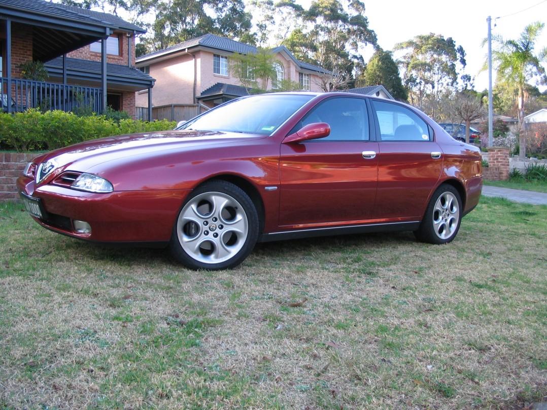 2000 Alfa Romeo 166 3.0 V6