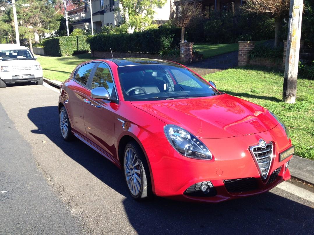 2012 Alfa Romeo GIULIETTA 1.4