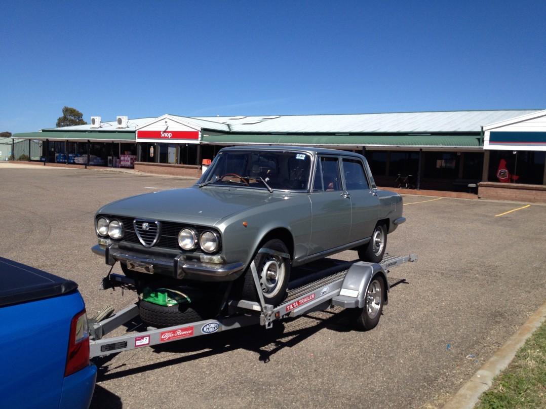 1974 Alfa Romeo BERLINA 2000A