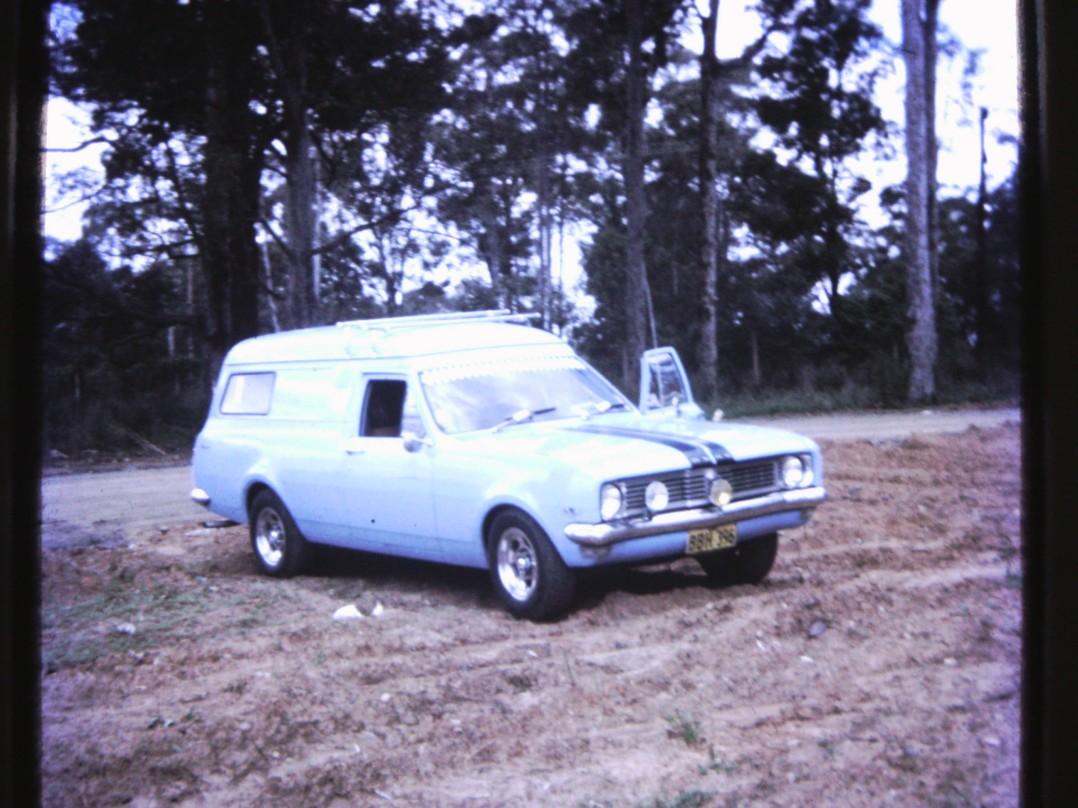 1970 Holden HT Panel Van