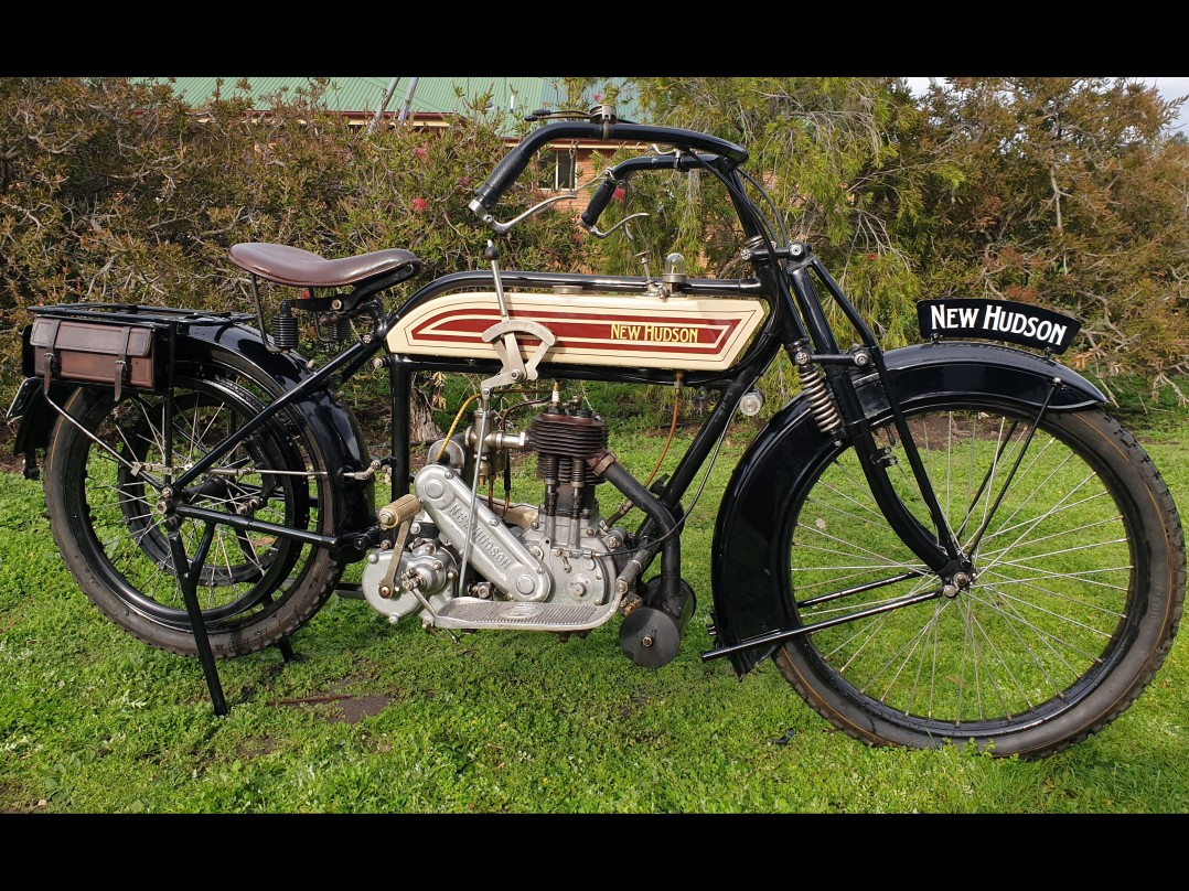 1914 New Hudson 1914 500cc Single - 3 speed
