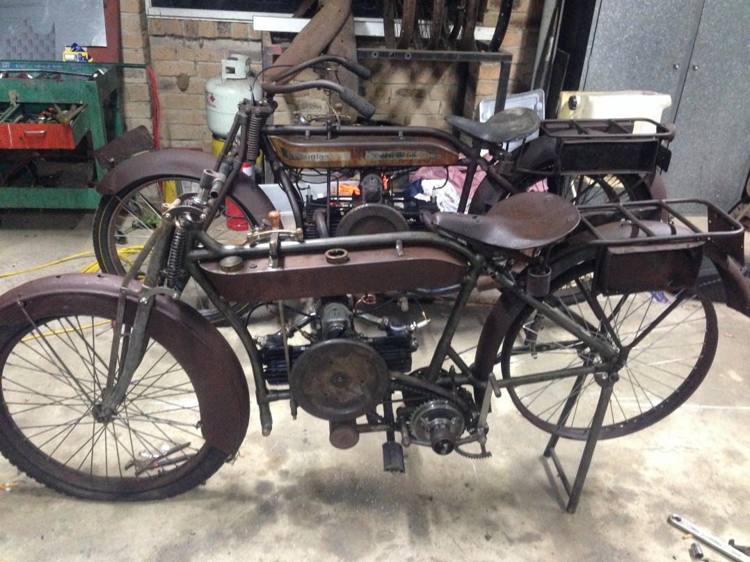 1917 Vintage Motorcycle Collection Vintage
