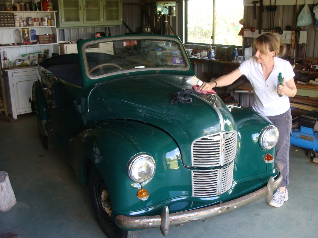 1951 Austin A40 Dorset Convertable