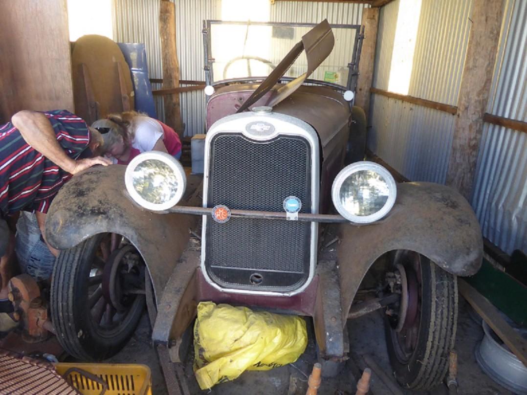 1928 Chevrolet Utility