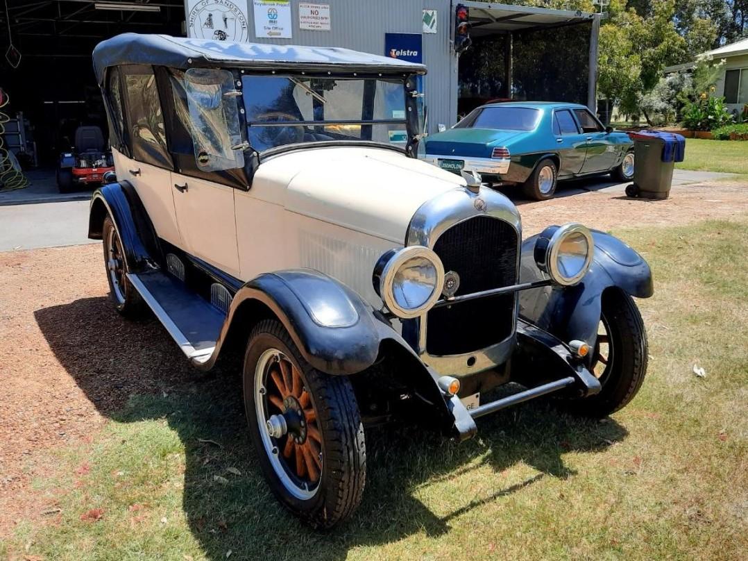 1926 Chrysler F58 Touring Convertible