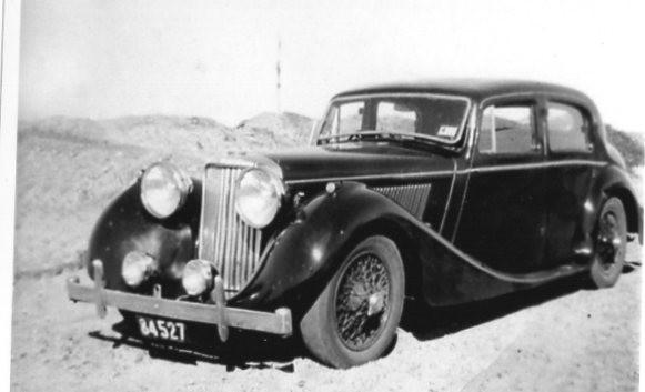 1947 Jaguar MARK 1V I THINK