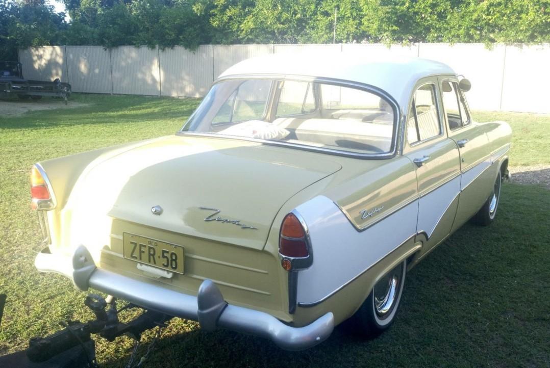 1958 Ford Zephyr MK2