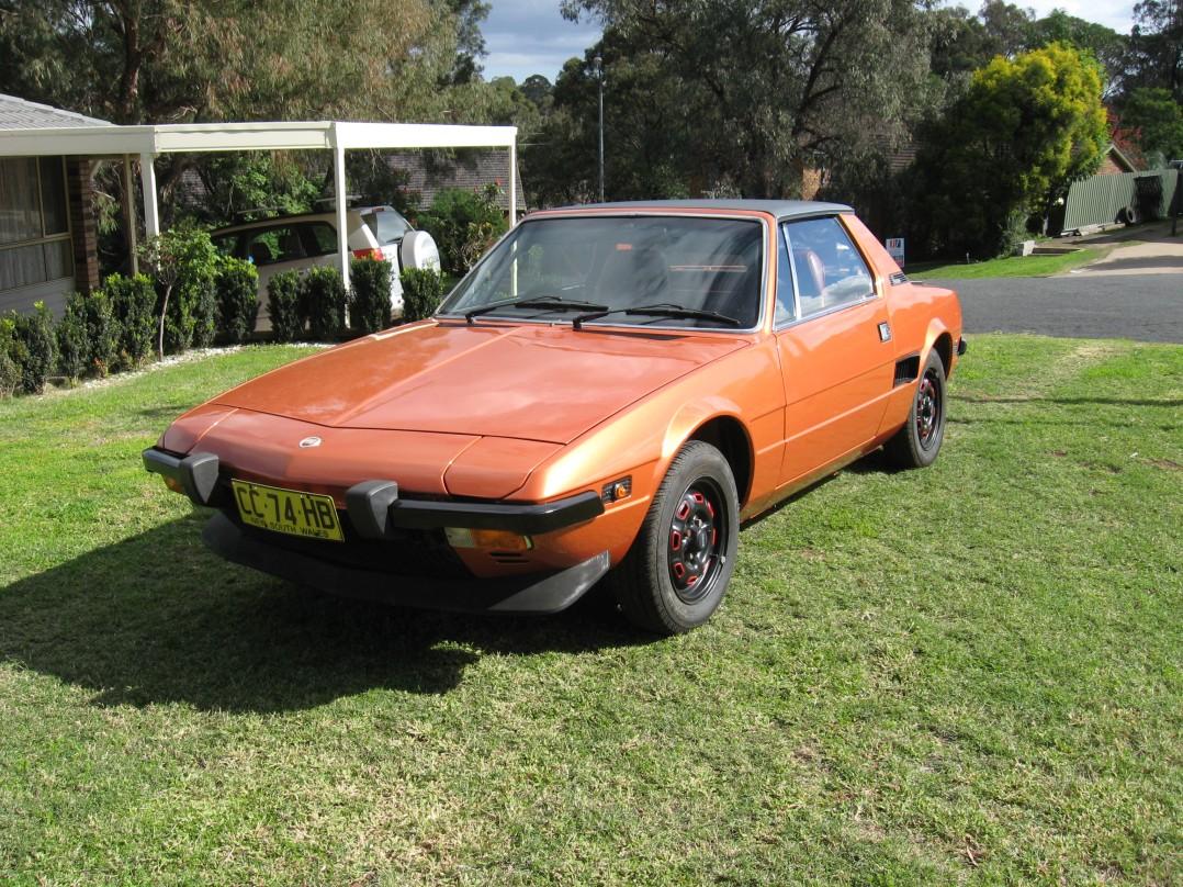 1978 Fiat x19