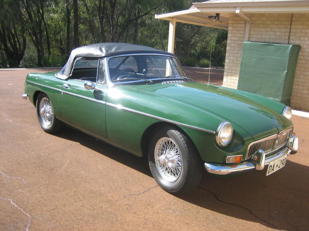 1963 Morris MGB