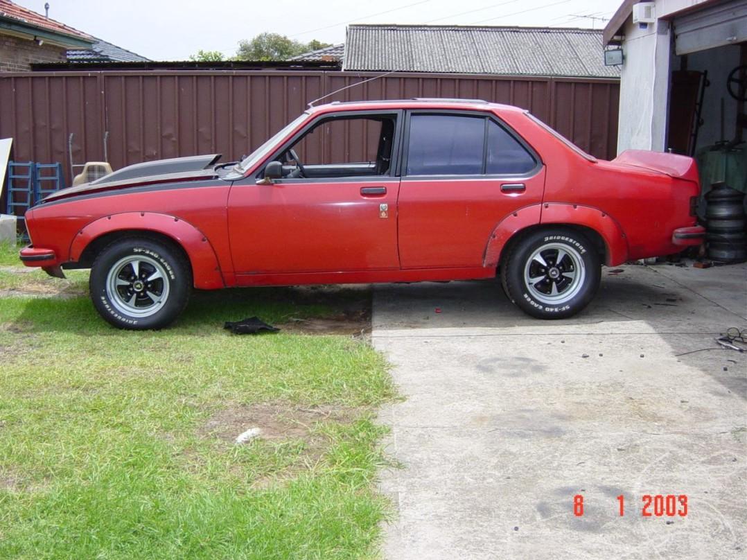 1977 Holden TORANA SL/R 5000 A9X