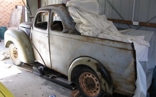 1949 Ford Prefect