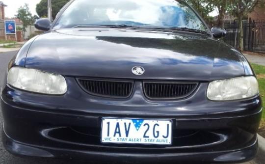 2001 Holden commodore supercharged