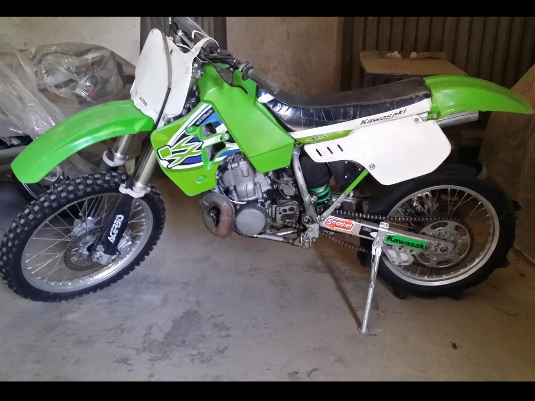 2001 Kawasaki kx500